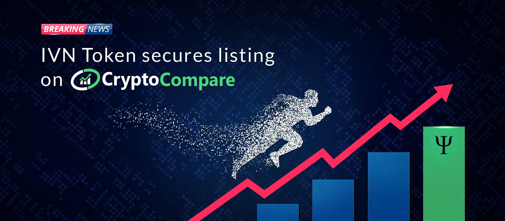 IVN Token is now listed on CryptoCompare